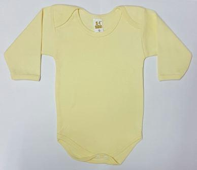 BODY KD KIDS ML AMARELO P