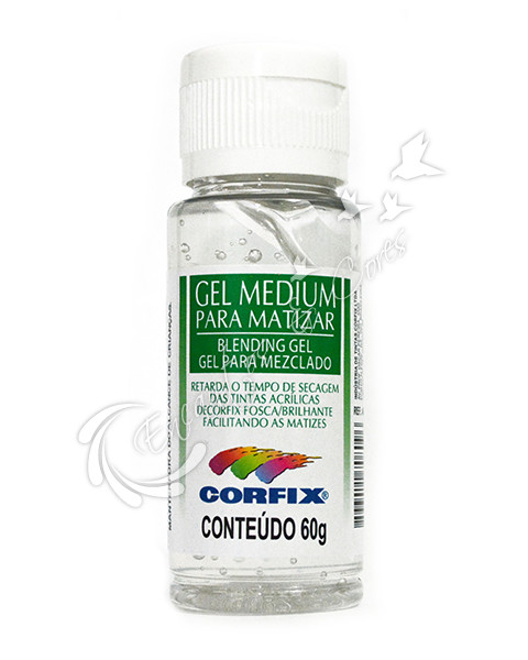 GEL MEDIUM P/MATIZAR CORFIX 60 ML