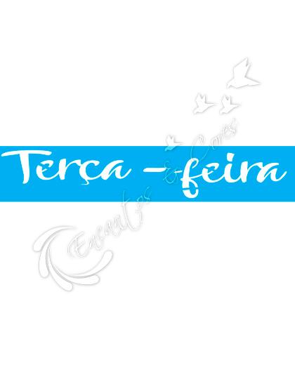 STENCIL JOIA JK 425 SEMANINHA TERCA FEIRA