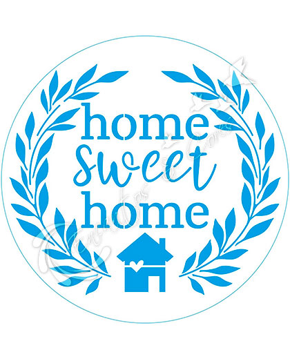 STENCIL LITOARTE STXX-198 COUNTRY HOME SWEET HOME