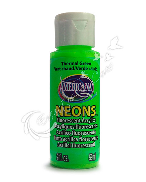 TINTA DECOART AMERICANA NEONS THERMAL GREEN DHS5 59ML