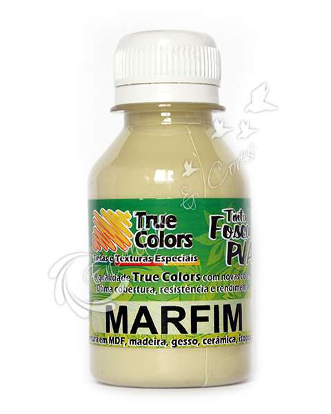 TINTA PVA FOSCA TRUE COLORS MARFIM 100ML