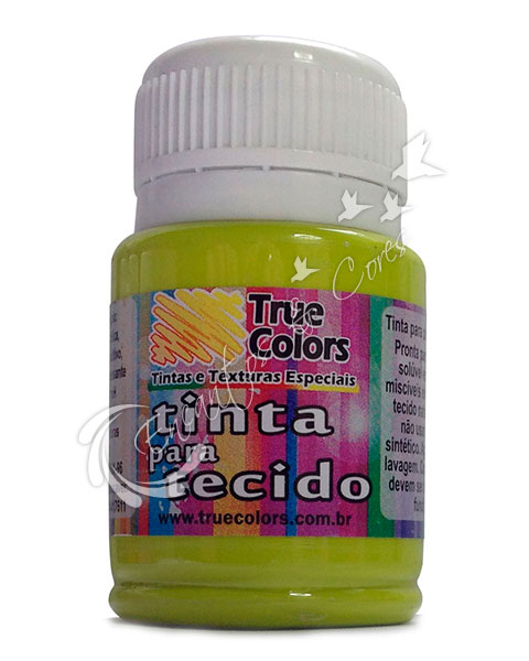 TINTA TECIDO TRUE COLORS VERDE CITRICO 37 ML REF 31073