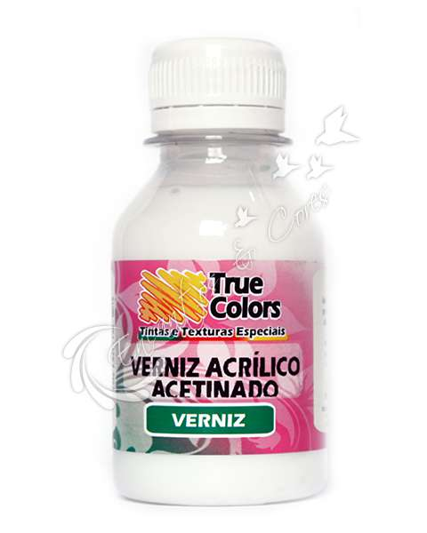VERNIZ TRUE COLORS ACRILICO ACETINADO 100 ML