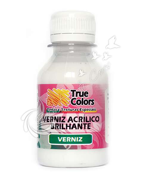 VERNIZ TRUE COLORS ACRILICO BRILHANTE 100 ML